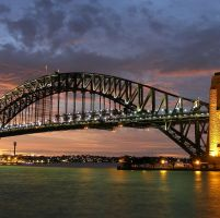 AUSTRALIA & NEW ZEALAND DAY 5 : SYDNEY - KOTA ASAL (MP)  sydney_harbour_bridge_new_south_wales